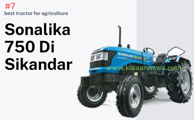 Sonalika sikandar 750 di photo ,. best tractor for agriculture