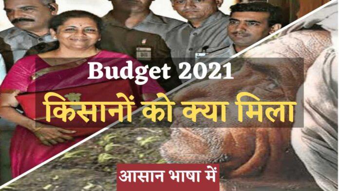 Budget 2021 for farmer's