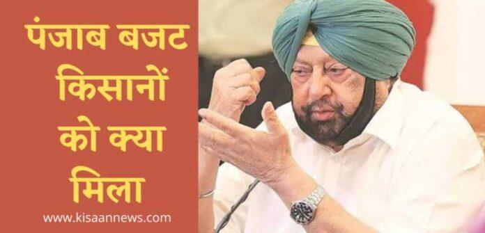 budget punjab farmers