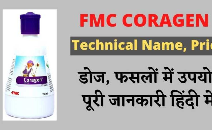 FMC Coragen Insecticide - technical name, Price, Uses in Hindi